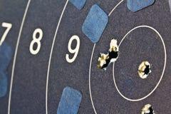 Qualificazioni di pratica di obiettivo Fotografie Stock Libere da Diritti