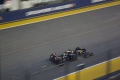 Qualifizierendes Rennen Singapur-Formel-1 Lizenzfreie Stockfotos