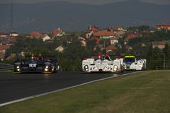 Qualifying Action at Hungaroring Royalty Free Stock Photos