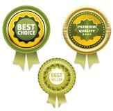 Qualità premio e migliore etichetta Choice bestseller/dell'etichetta. Immagine Stock