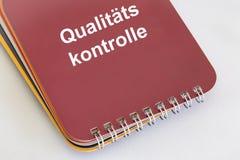 Qualitätskontrolle Royalty-vrije Stock Afbeelding