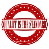 Qualität ist der Standard Lizenzfreies Stockfoto