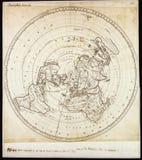 Qualitäts-antike Karte Stockfotos