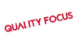Qualitäts-Fokusstempel Stockfotografie