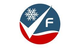 Qualitäts-Service-Klimaanlagen-Initiale F Stockfotos