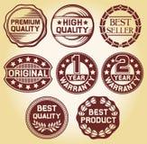 Qualitätskennsatz Lizenzfreies Stockfoto