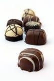 Qualitätsschokoladen Stockbild