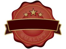 Qualitätssiegel Lizenzfreies Stockbild