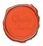 Qualitätswachsdichtung Lizenzfreies Stockfoto