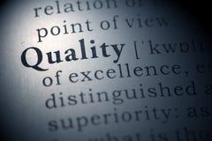 qualité image stock