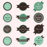 Qualité de prime de label de vintage Image stock