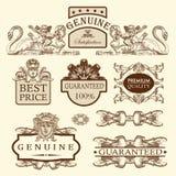 Qualité et garantie de la meilleure qualité de luxe royales fleuries Photographie stock