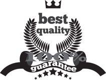 Qualité et une pleine marque de garantie Image libre de droits