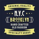 Qualité originale Brooklyn Photographie stock