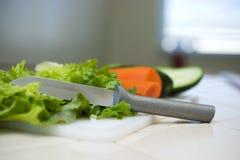 Qualités simples de salade Photographie stock libre de droits