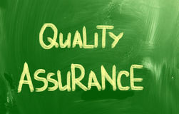 Quality Assurance Concept Royalty Free Stock Images