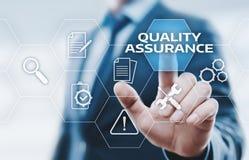 Quality Assurance Service Guarantee Standard Internet Business Technology Concept Stock Photos