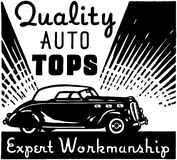 Quality Auto Tops Royalty Free Stock Photo