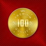 Quality badge Stock Image