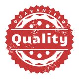 Quality badge Stock Images