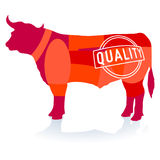 Quality Beef Royalty Free Stock Photo