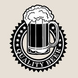 Quality Beer Seal Stock Photo
