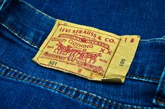 c5c3f26c Logo Levi Strauss 501 editorial stock image. Image of streetwear ...