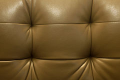 Quality brown leather texture Stock Photos