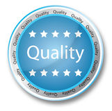 Quality button royalty free stock images