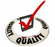 Quality Check Mark Box Ring Royalty Free Stock Photo