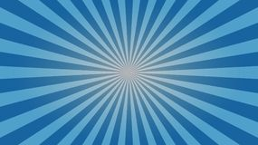 Light blue sunburst desktop wallpaper design. A quality, clean and subtle light blue sunburst wallpaper design for your desktop stock illustration