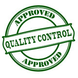 Quality control approved Stock Photography