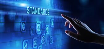 Free Quality Control Assurance Standard Iso Standardisation Certification Business Technology Concept Stock Images - 220478304