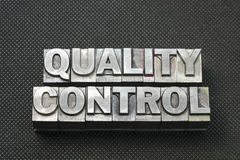 Quality control bm Royalty Free Stock Photography