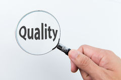 Quality control concept Royalty Free Stock Images