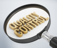 Quality Control Stock Photography