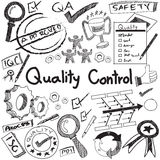 Quality control in manufacturing industry production and operati Stock Photo