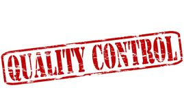 Quality control. Rubber stamp with text quality control inside,  illustration Royalty Free Stock Photos