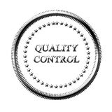 Quality control sign Stock Photos