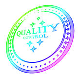 Quality control stamp Stock Photos