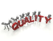 Quality control team Royalty Free Stock Image