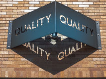 Quality sign Stock Images