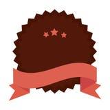 Quality emblem isolated icon. Illustration design Stock Photo