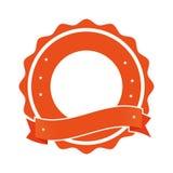 Quality emblem isolated icon. Illustration design Royalty Free Stock Photos
