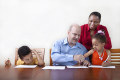 Quality family time Stock Image