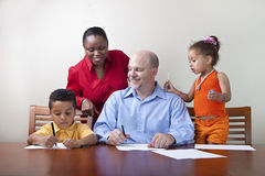 Quality family time Royalty Free Stock Photo