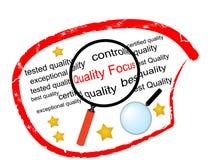 Quality Focus Stock Photo