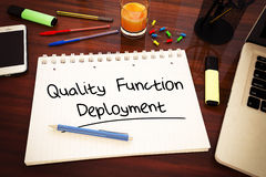 Quality Function Deployment Stock Images