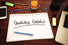 Quality Goals Royalty Free Stock Photography