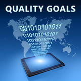 Quality Goals Royalty Free Stock Photos